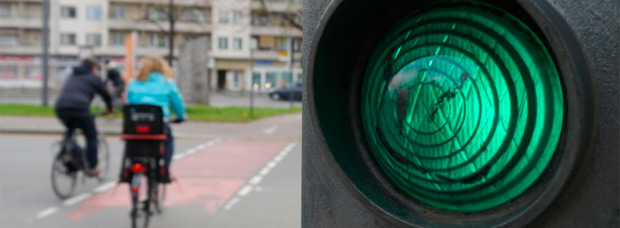 Prioridad para los ciclistas en las calles de Berlín