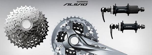 El nuevo grupo de transmisión Shimano Alivio de la temporada 2015