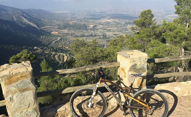 La foto del día en TodoMountainBike: 'Sierra de Benicadell'