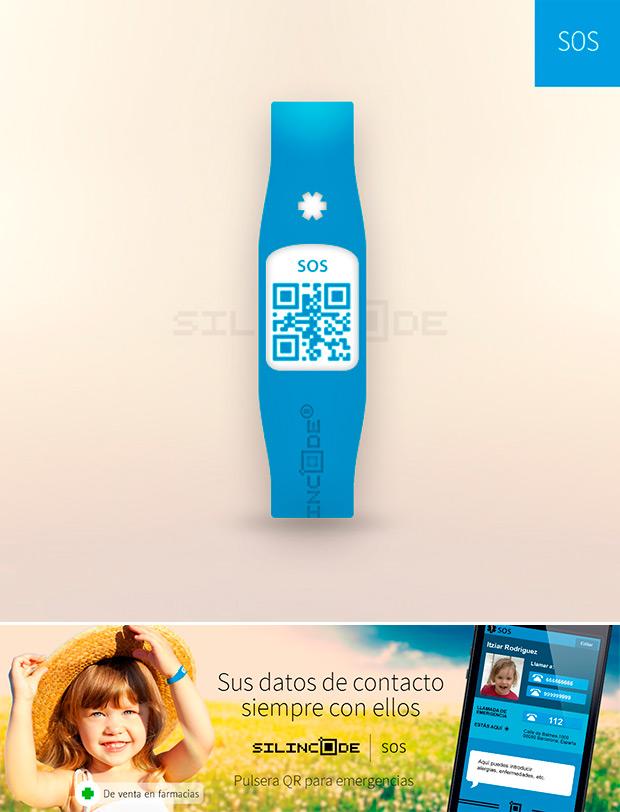 Nuevas pulseras identificativas SilinCode SOS de Omega Pharma