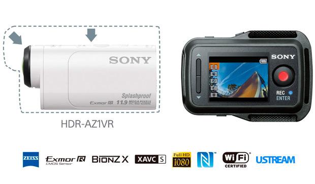 Nueva Sony Action Cam Mini, más pequeña y ligera que nunca