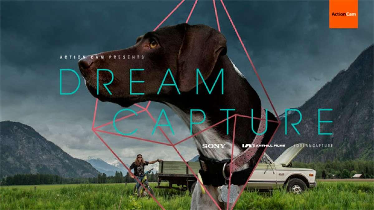 Casey Brown + El perro Poppy + Un Singletrack = Velocidad, mucha velocidad
