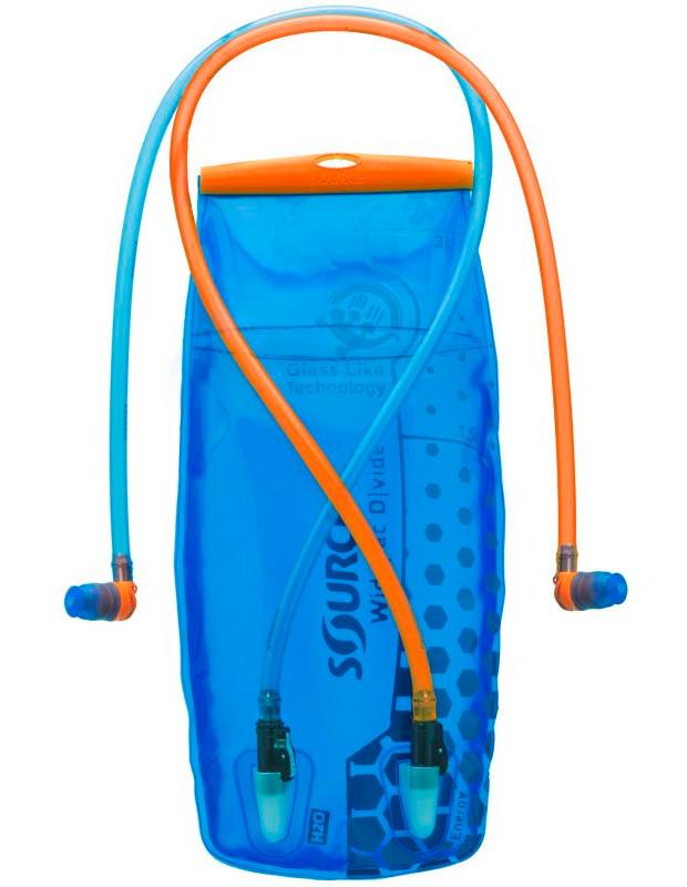 Source D|vide Hidration System, un depósito dual para mochilas de hidratación