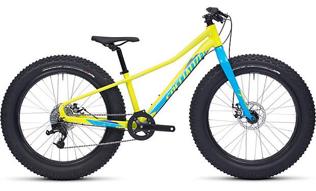 Specialized Fatboy Junior: Las nuevas 'Fat Bike' de 20 y 24 pulgadas de Specialized