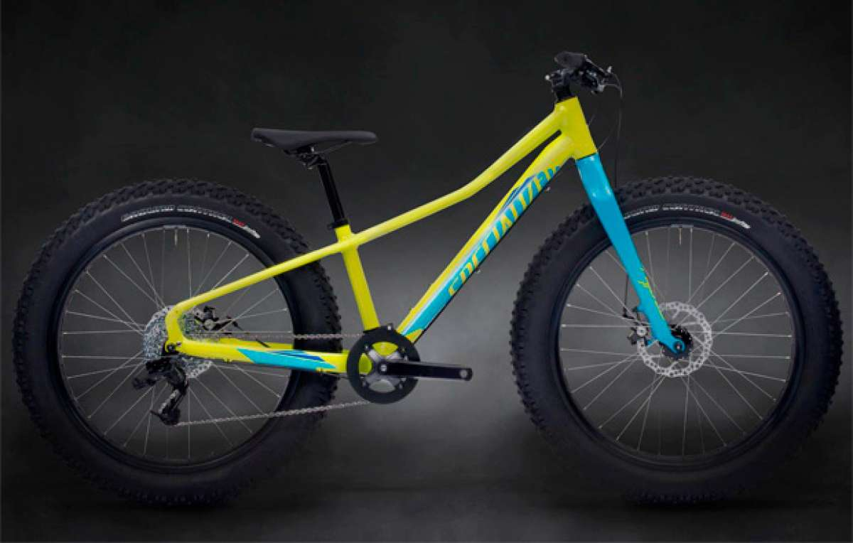 "Specialized Fatboy Junior: Las nuevas ""Fat Bike"" de 20 y 24 pulgadas de Specialized"