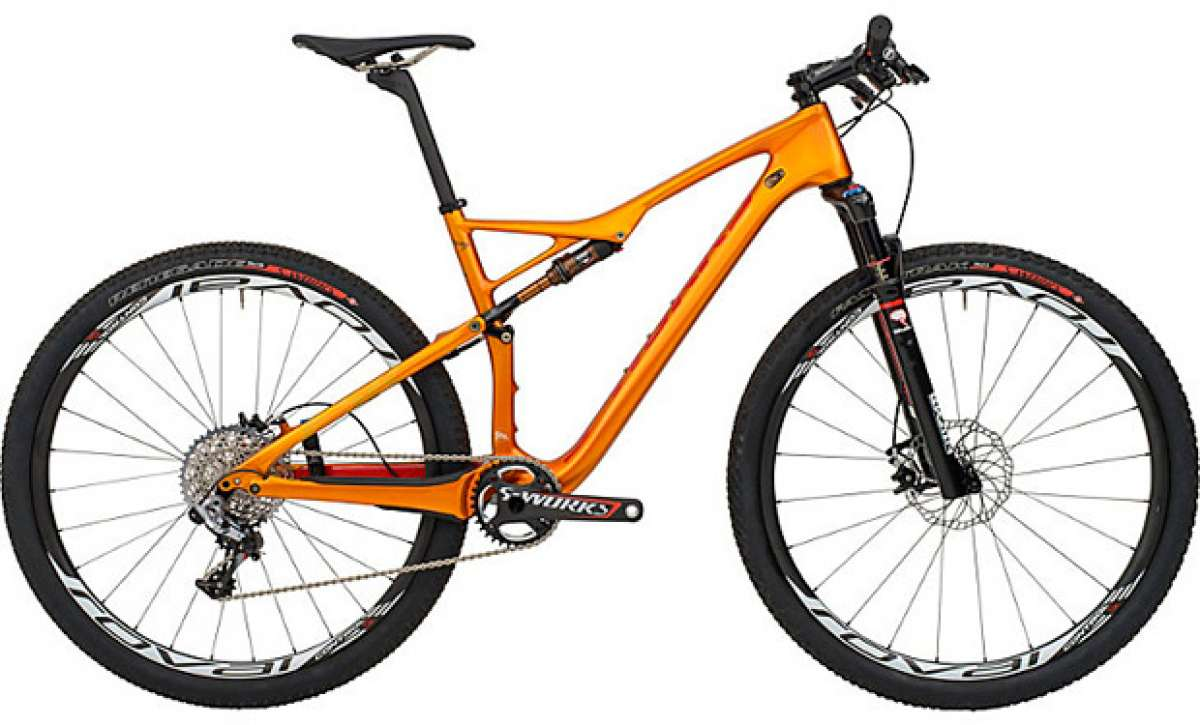 Specialized S-Works Epic Burry Stander Edition: Un sueño de color dorado
