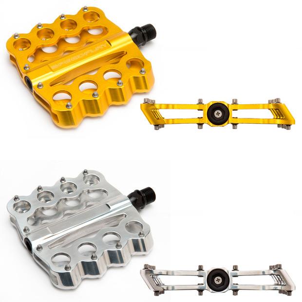 Brass Knuckles, los nuevos y agresivos pedales de plataforma de Speedplay