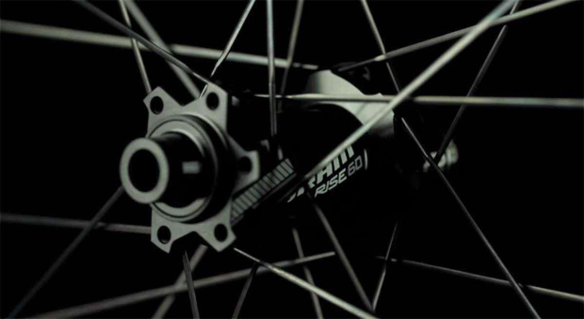Las nuevas ruedas SRAM Rise 60 de 2015 en acción