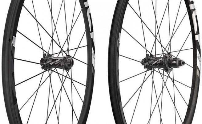 Nuevos bujes y llantas de carbono para las ruedas SRAM Rise 60 de 2015
