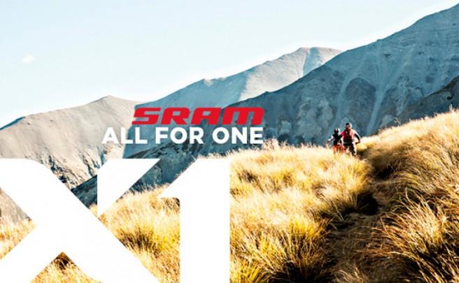 Nuevo grupo de transmisión SRAM X1 de 11 velocidades. Más asequible, pero con el mismo rendimiento que sus hermanos mayores