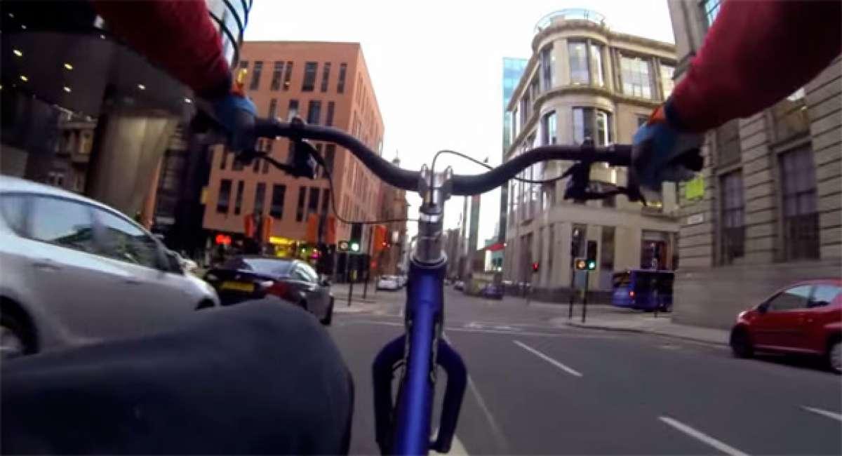 """Sunday Ride: Un paseo """"de domingo"""" por las calles de Glasgow con Danny MacAskill"""