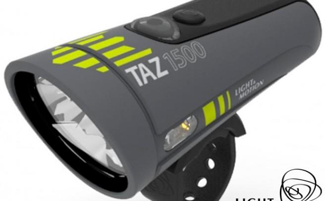 TAZ 1500: El nuevo foco LED para bicicletas con 1500 lúmenes de potencia