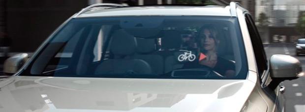 Ciclistas y conductores 'conectados' entre sí con las próximas tecnologías de Volvo