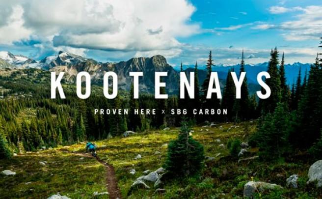 The Kootenays: La nueva Yeti SB6 Carbon de 2015 en acción