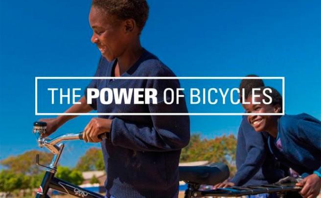 'Una bici, una oportunidad'. Maravillosa campaña de concienciación de World Bicycle Relief