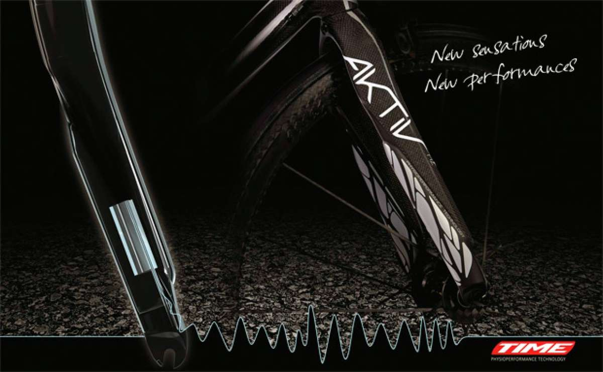 Time Aktiv, una nueva horquilla rígida capaz de absorber las vibraciones de la carretera