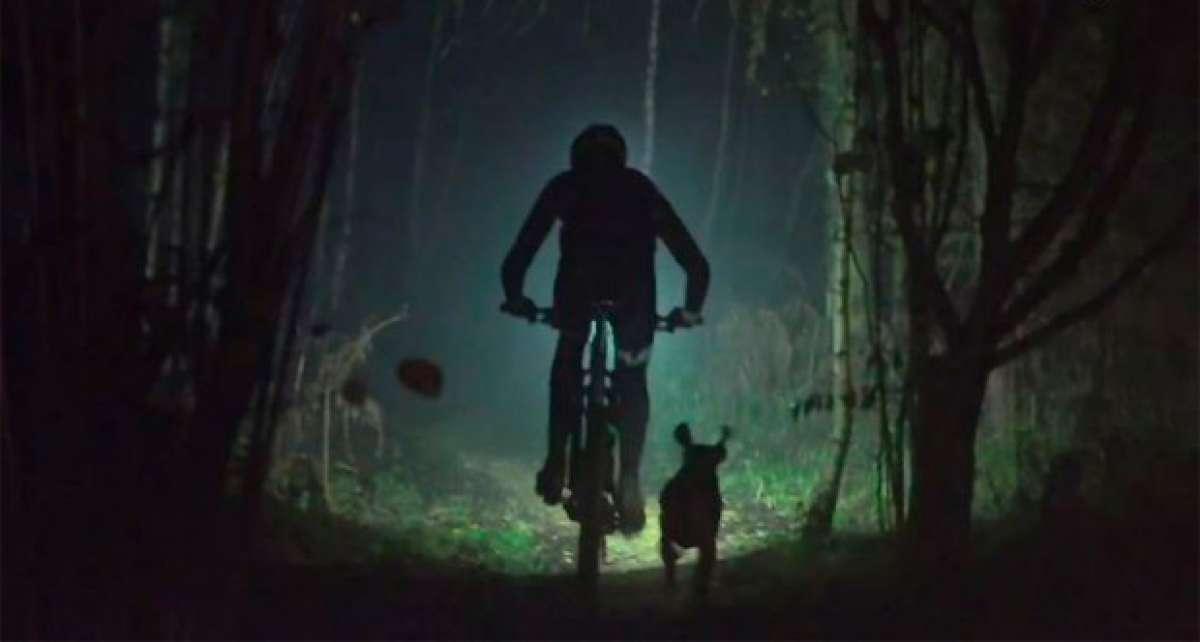 Trail Dog 2: Una divertida ruta nocturna con Tom Wragg y su mascota Ruby