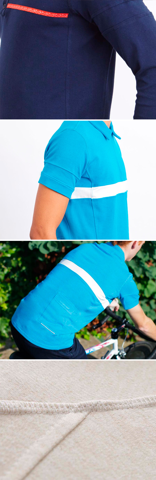 Transparent, ropa casual con un 'toque' ciclista