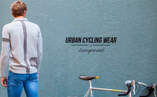 Transparent, ropa casual con un 'toque' ciclista