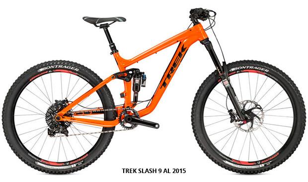 Trek Slash 2015: Nuevo cuadro de carbono OCLV para la 'bestia' de Enduro de Trek