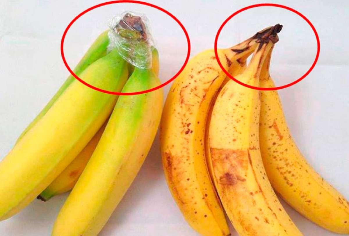 Nutrición: Un interesante truco para mantener los plátanos siempre frescos