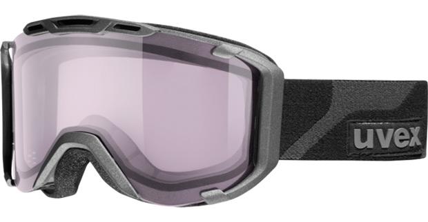 Uvex Snowstrike VT, unas avanzadas gafas de máscara con tintado electrónico (en tiempo real) de lente