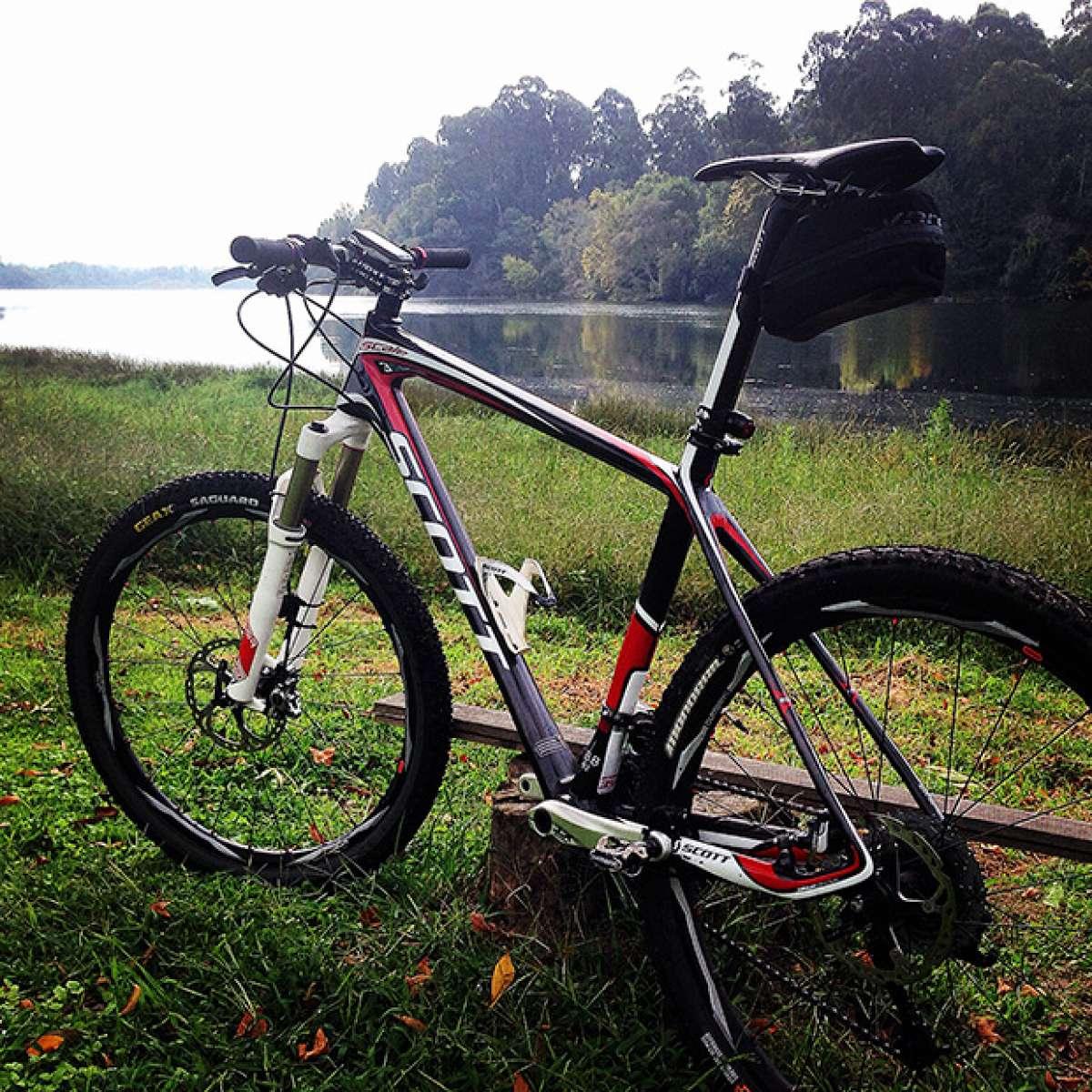 La foto del día en TodoMountainBike: 'Paseo por la orilla del Río Miño'