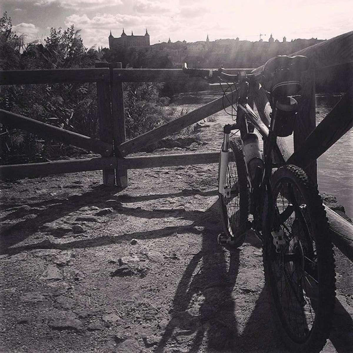 """La foto del día en TodoMountainBike: """"La Vía del Tajo de Toledo"""""""