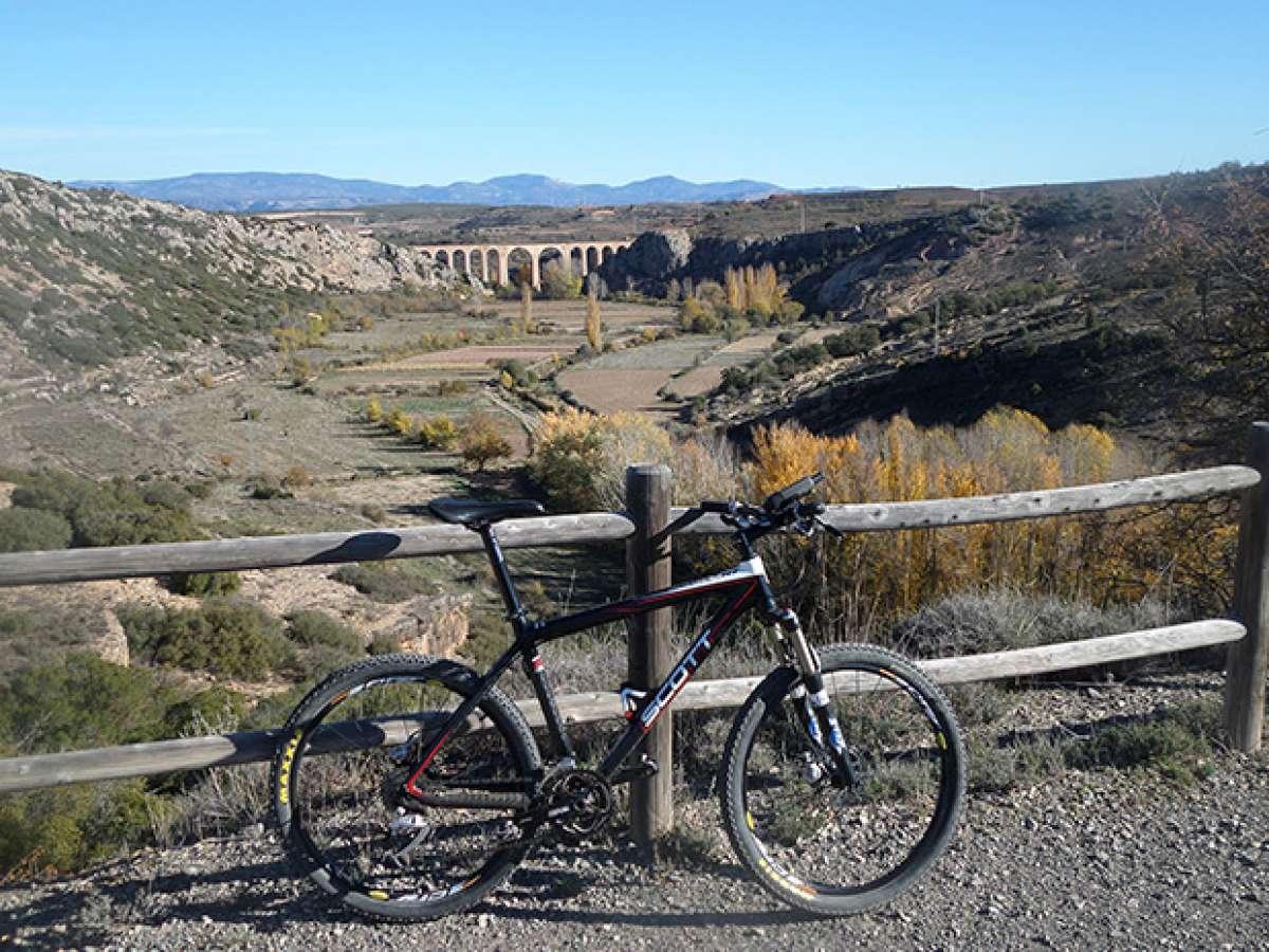 La foto del día en TodoMountainBike: 'Viaducto de Albentosa'