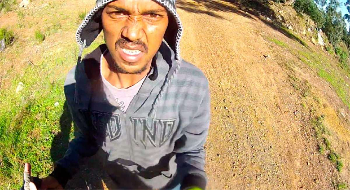 Así te roban una bicicleta a punta de pistola en Ciudad del Cabo (Sudáfrica)