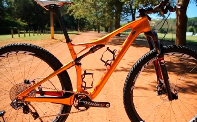 La nueva Specialized S-Works Epic Burry Stander Edition en detalle