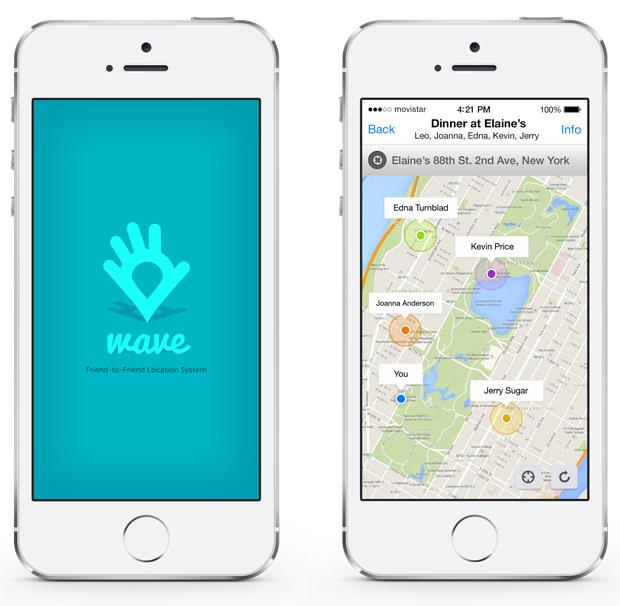 Wave: Una aplicación móvil para planificar salidas... y controlar a nuestros compañeros