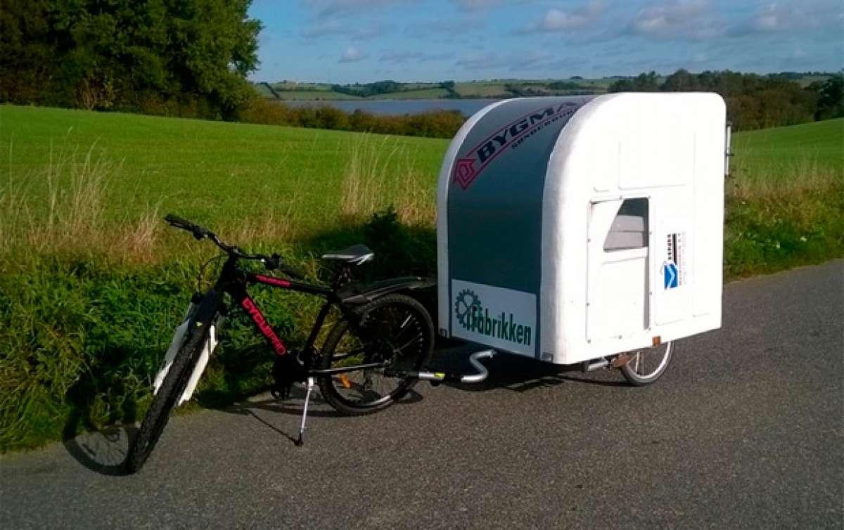 Wide Path Camper, una pequeña caravana específica para bicicletas