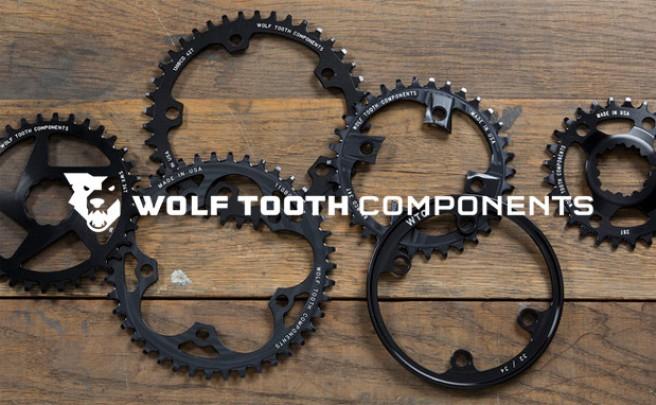 Nuevo diseño de dientes asimétricos para los platos de Wolf Tooth Components
