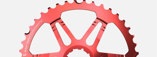 Nuevo piñón de 42 dientes para transmisiones de 10 velocidades de Wolf Tooth Components