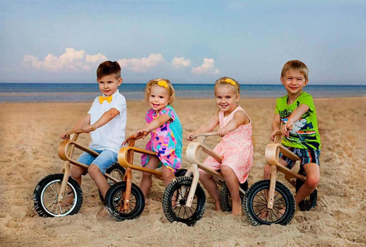 "ZumZum Balance, una interesante bicicleta infantil con suspensión ""natural"" de serie"