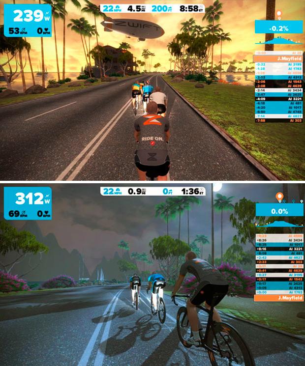 Zwift Un Increible Juego Online Multijugador Para Competir Mientras