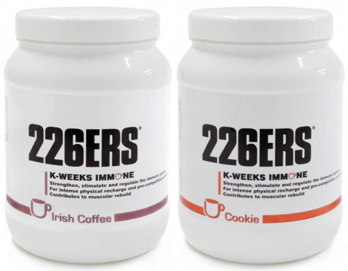 Dos nuevos sabores para el complemento de desayuno K-Weeks Immune de 226ERS