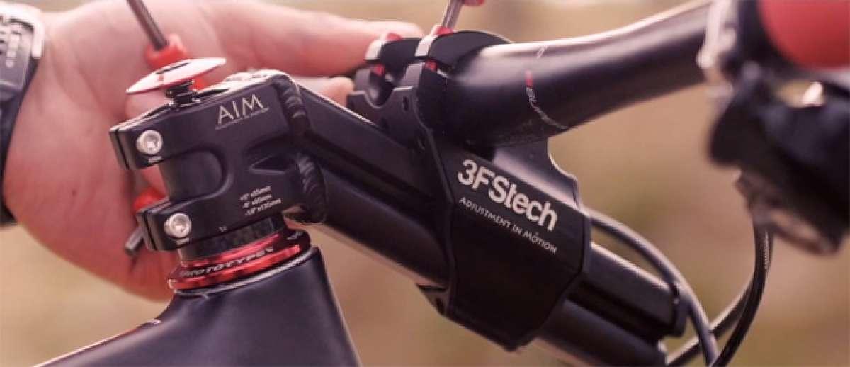 """3FStech AIM Stem, una nueva potencia ajustable """"al vuelo"""" en tres posiciones"""