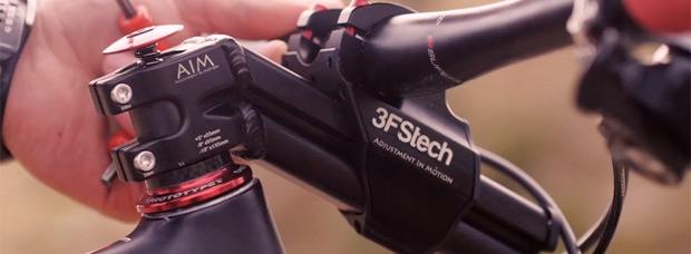 3FStech AIM Stem, una nueva potencia ajustable 'al vuelo' en tres posiciones