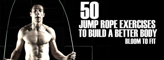 Cincuenta ejercicios saltando a la comba para ponernos en forma sin salir de casa