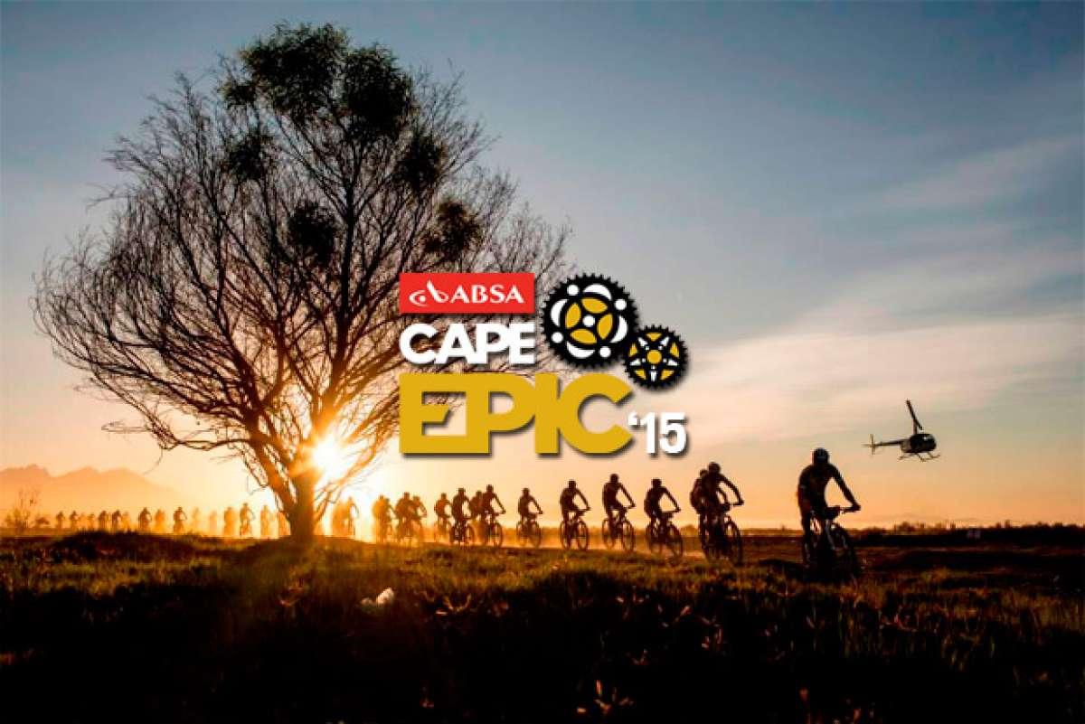 Ocho días en diez minutos... Espectacular resumen de la Absa Cape Epic 2015