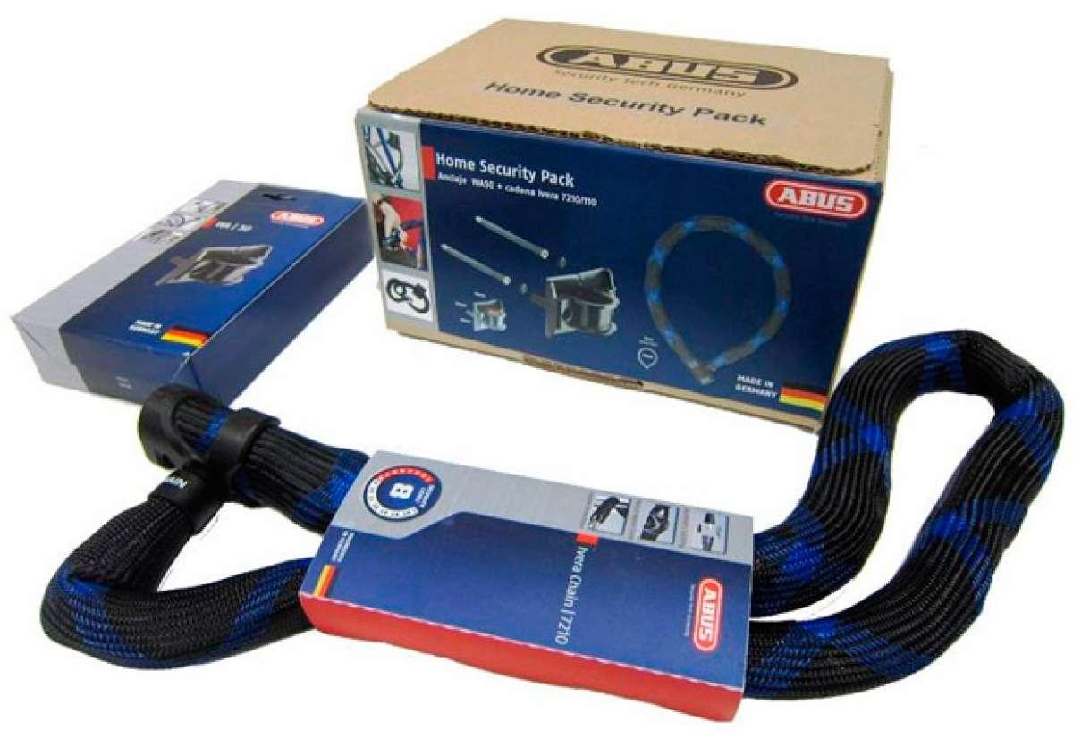 Nuevo 'Home Security Pack' de ABUS para evitar robos de bicicletas en garajes y trasteros
