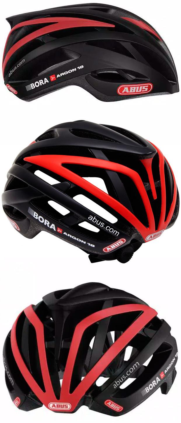 ABUS Tec-Tical Pro v.2, ya disponible la réplica del nuevo casco del equipo Bora-Argon 18