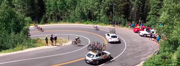 Espeluznante accidente de Matt Brammeier en el Tour de Utah 2015