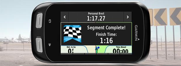 Actualización de software para dispositivos Garmin: Llegan los segmentos en tiempo real para los modelos Edge 810 y Edge 510