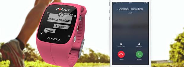 Notificaciones con dispositivos Android en la última actualización del Polar M400
