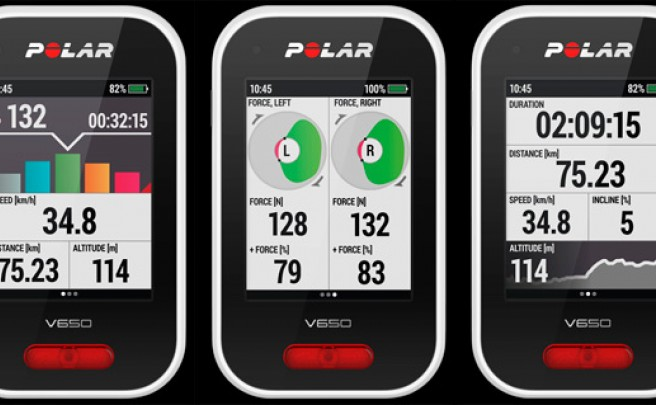Mayor compatibilidad con medidores de potencia en la última actualización de los Polar V650 y V800