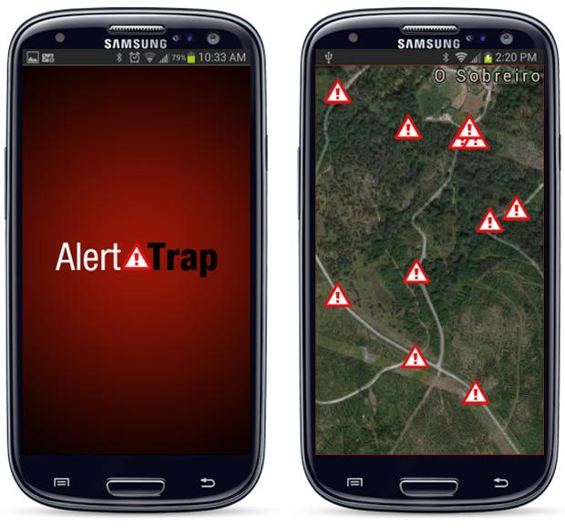 AlertTrap, la primera aplicación móvil que nos alerta de trampas en el monte