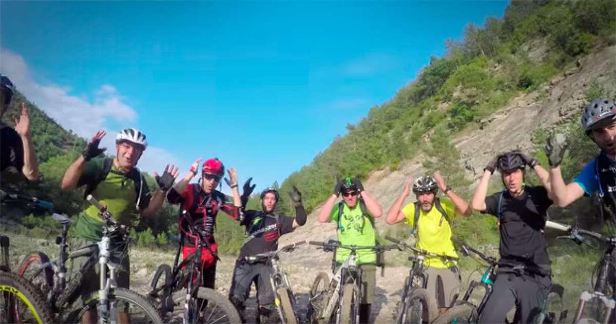'Allá voy', genial y divertido vídeo musical para promocionar el 'Enduro Festival Zona Zero' de Aínsa